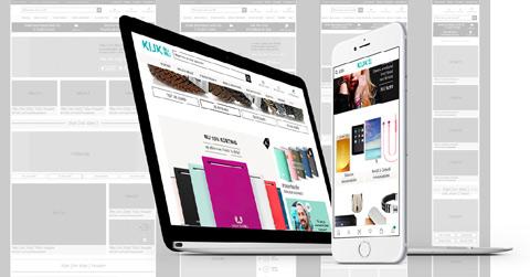 Showcase site design structure